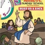 "Teach your children about Jesus' Church with ""Built on a Rock."""