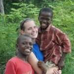 Sarah Jo on a previous mission trip to Haiti.