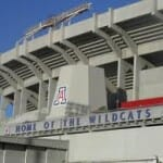 The u of A football stadium