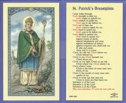 St Patrick prayer