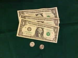 Missions money