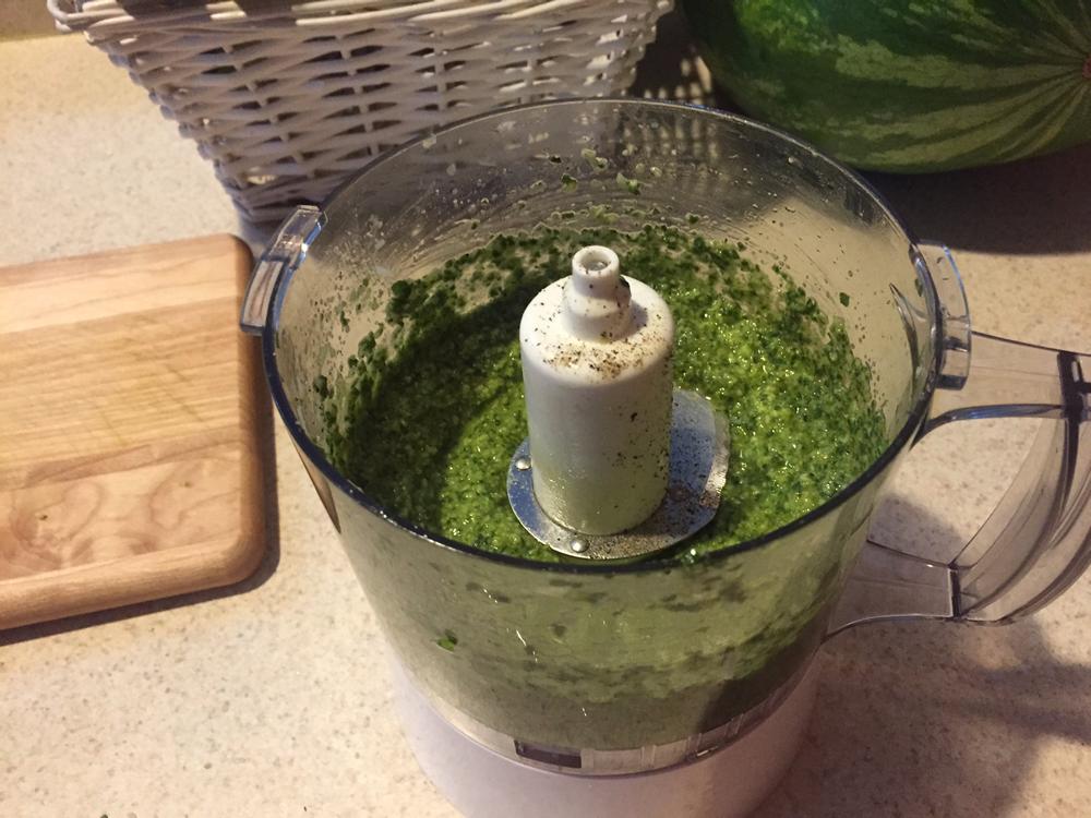 Delicious Homemade Basil Pesto
