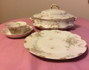 My great-grandmothers Haviland china begs to be used.