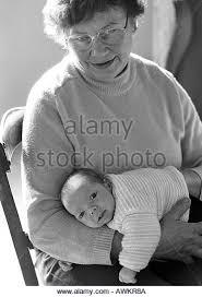 Caroline and baby
