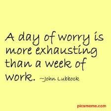 worry quote 1