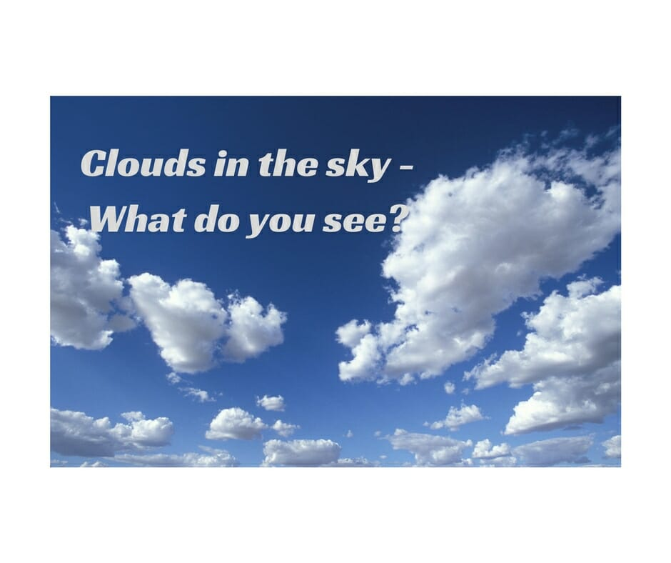 clouds in the sky - What I Saw Today