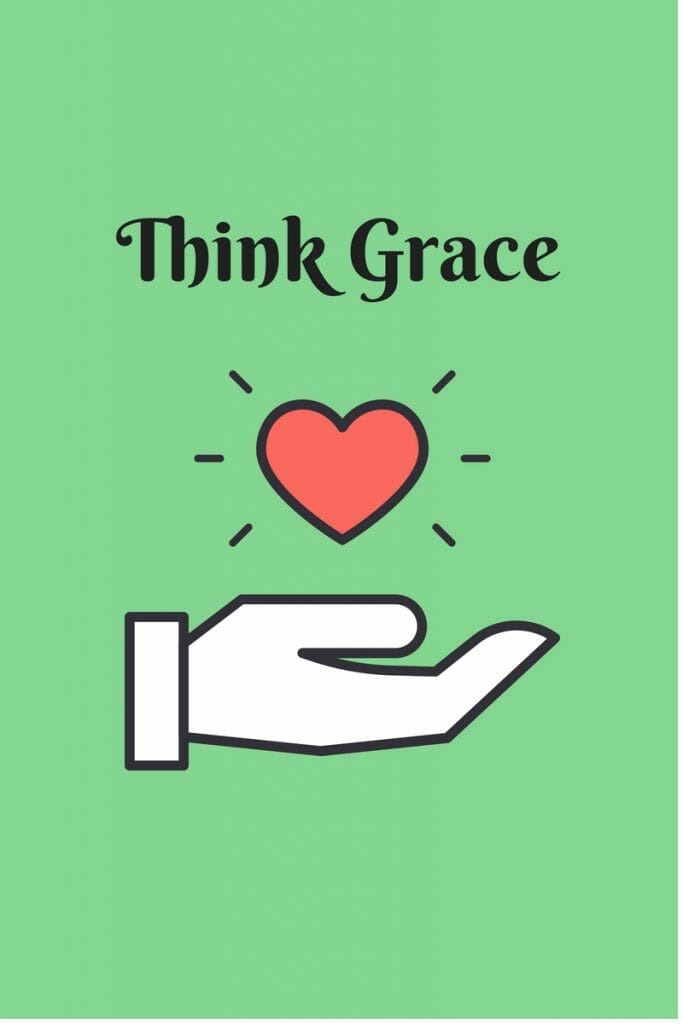 Think Grace - the bigger the offense, the more ned for grace