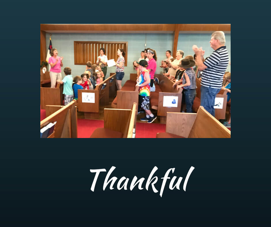 thankful - in everything give thanks