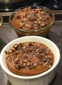 Pumpkin Pecan Custard - a great dessert for the diabetic at your family dinners
