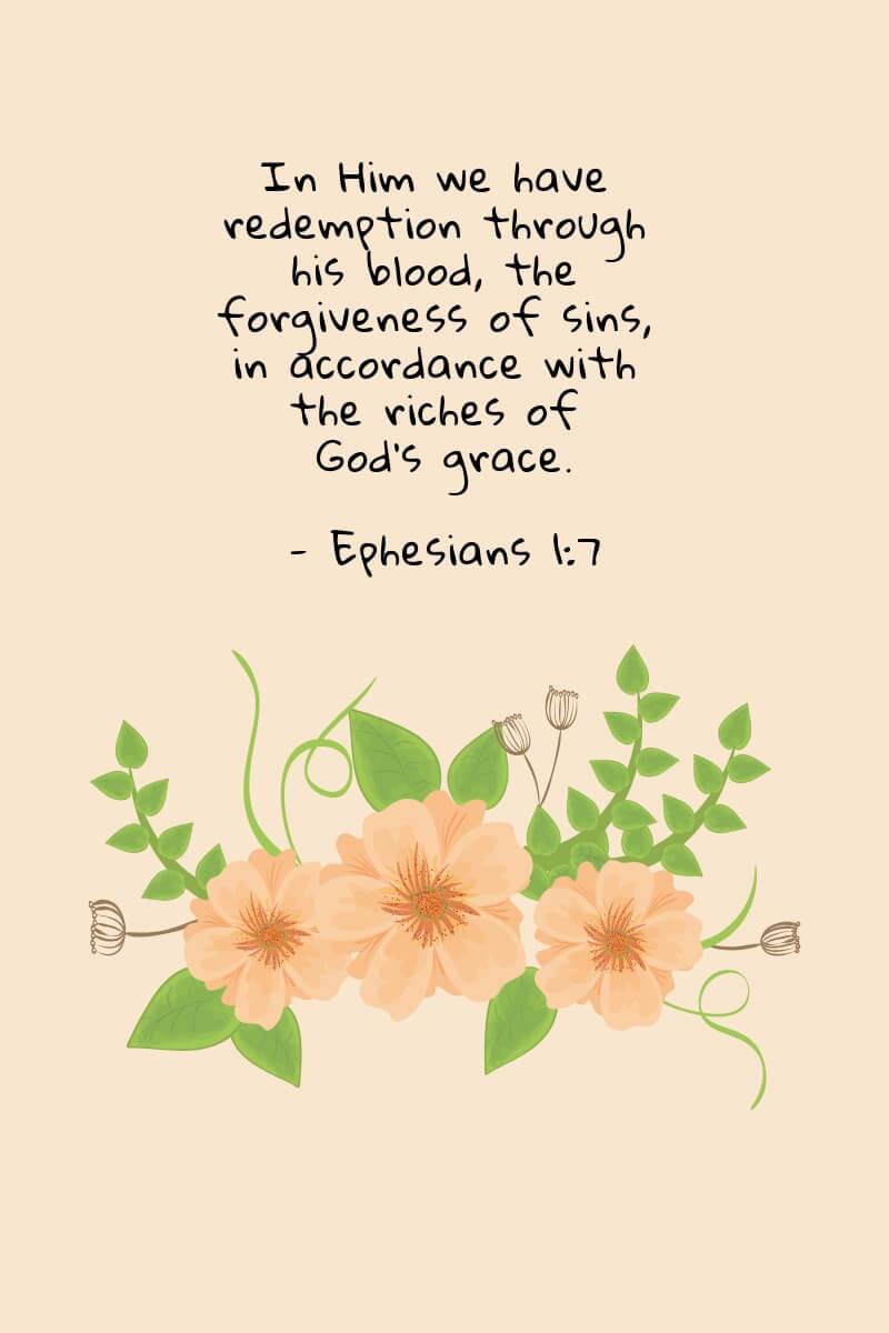 Amazing Grace - Ephesians 1:7