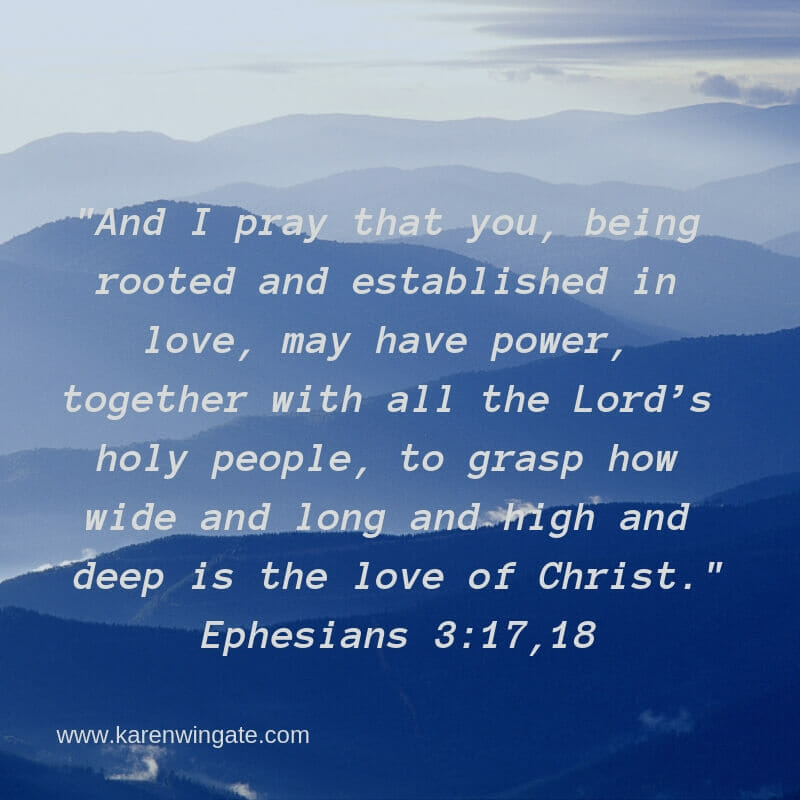Ephesians 3:17,18 - The extent of God's love for us