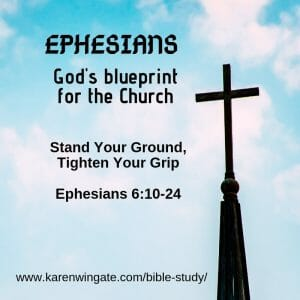 Spiritual Warfare - Ephesians Bible STudy Session 8