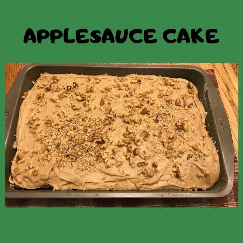 recipe for Applesauce Cake
