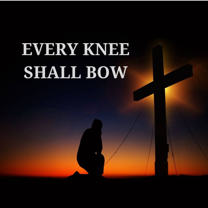 Every knee shall bow - Philippians 2:10