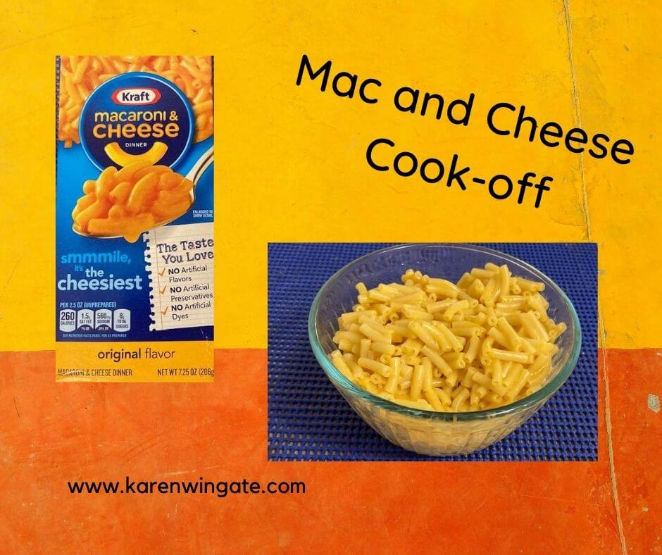 Mac and Cheese Cook-off