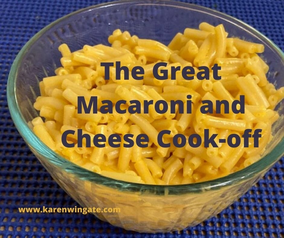 The Great Macaroni and Cheese Cook-off